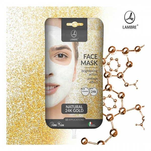 FACE MASK GOLD - о�...