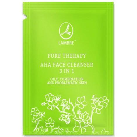 Тестер PURE THERAPY AHA FACE CLEANSER 3 IN 1
